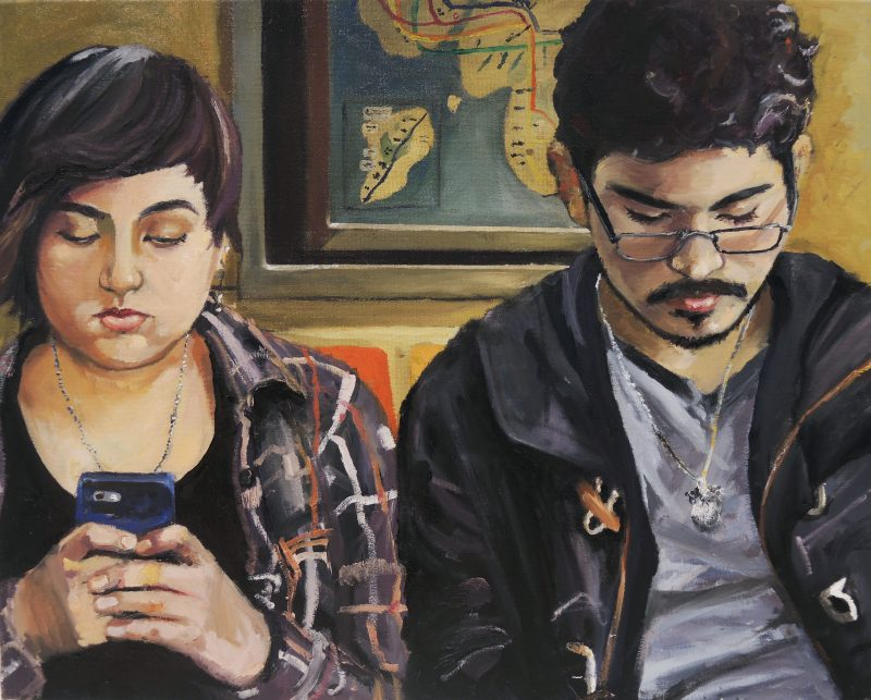 "Nina Vazquez, ""R train Social"""
