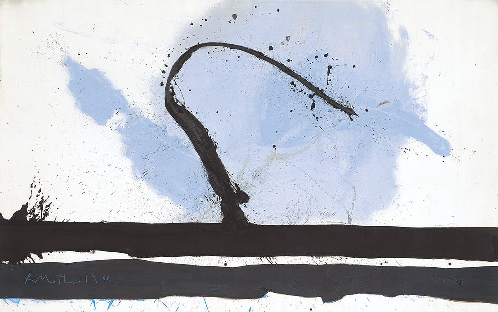 Beside the Sea with Bulkhead, 1962. Oil and acrylic on canvas, 68 ¾ x 54 1/8""